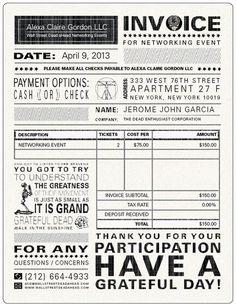 cute invoice | design // print | pinterest | colors, the o'jays, Invoice templates