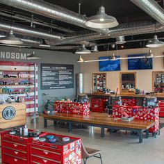 "The Great American Barbershop located in Laguna Hills, CA takes pride in providing customers with impeccable service standards and the ultimate barbering experience.   ANP Lighting's ""W520"" Warehouse Shades, 20"" in diameter, were chosen to add to The Great American Barbershop's industrial and rugged interior!"