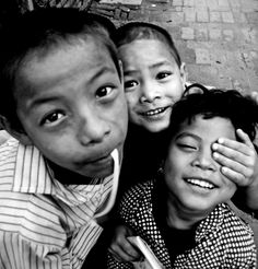 Nepalese Kids by Celine Barrelet 2009 > #helpNepal  #earthquake2015 #spreadlove