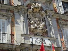 Plaza Mayor fue construido durante el reinado de Philip III y es una plaza central en la cuidad de Madrid.