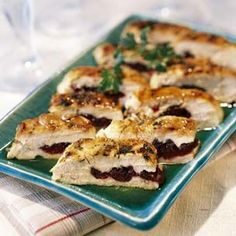 Pressed #Chicken Breasts with Dried Cherries