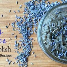 Gentle Lavender Body Polish (Plus 7 More Lavender Recipes) Homemade Rose Water, Homemade Face Moisturizer, Plantain Recipes, Lavender Recipes, Mountain Rose Herbs, Tooth Powder, Pyrex Bowls, Body Polish, Other Recipes