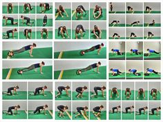 21 crawling exercises for a full body cardio workout. strengthen your core with these crawls as you burn fat! 8 Minute Ab Workout, Wod Workout, Abs Workout Routines, Cardio Routine, Workout Ideas, Fitness Workouts, Body Weight Training, Weight Lifting, Weight Loss