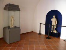 La nuova sala dell'Apollo e del Bambino Cacciatore