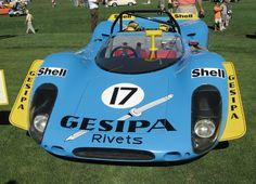 Porsche 908 Race Car