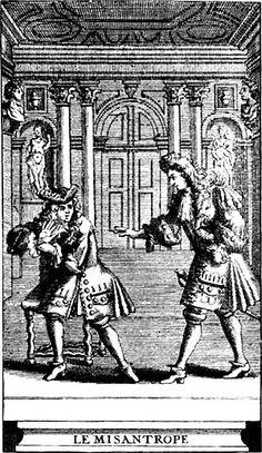 1666: 350 ANOS. O MISÁNTROPO, Molière. Letras.