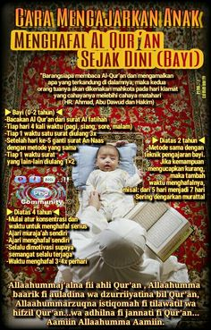 Mengajarkan al quran sejak dini Parenting Quotes, Parenting Advice, Kids And Parenting, Pray Quotes, Islamic Posters, Soul Healing, Learn Islam, Islamic Messages, Self Reminder