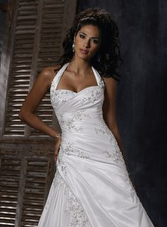 Wonderful Perfect Wedding Dress For The Bride Ideas. Ineffable Perfect Wedding Dress For The Bride Ideas. Maggie Sottero Wedding Dresses, Top Wedding Dresses, Wedding Attire, Bridal Dresses, Wedding Gowns, Bridesmaid Dresses, Bling Wedding, Bridesmaids, Wedding Styles