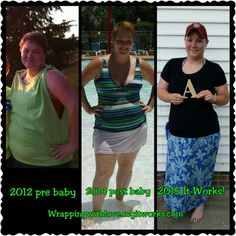 Thanks to Thermofit, body wraps and Greens (all It Works! Products) I look, feel and live healthier! Follow me on instagram to see updates! How can It Works! Help ypu get your health back?  Wrappingwithlove.myitworks.com  Dessahshaw instagram