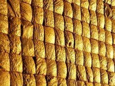 Pastilhas de casca de coco.