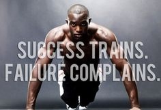 """RT  @TamaraMcCleary  """"Success Trains. Failure Complains."""" ~ unknown #quote #inspiration #leadership"""