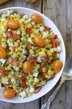Summer Corn & Feta Salad