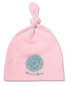 Born To Shine Baby Knot Hat
