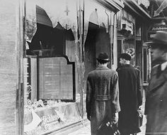 Adolf Hitler Germany third Reich anniversary chancellor nazi party dictator holocaust Nov 18 1938 - The Night Of The Broken Glass - throughout Germany, Jewish shops had the windows smashed World Watch, Jolie Photo, World History, Jewish History, European History, History Major, Canadian History, World War Two, Crystals