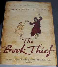 The Book Thief. A story taken place in Germany during WWII, told by Death.