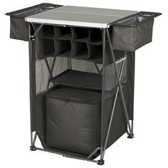 Portable Bar Tailgating Party Server Drink Food Organizer Portable Travel Sports #Tailgaterz