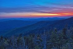 This view is breathtaking! We love a beautiful SmokyMountain view.