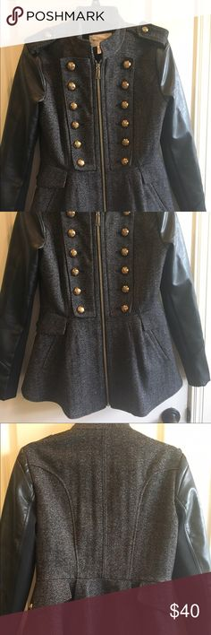 Bcbgeneration coat medium In excellent condition. Used like 2-3 times. BCBGeneration Jackets & Coats Pea Coats