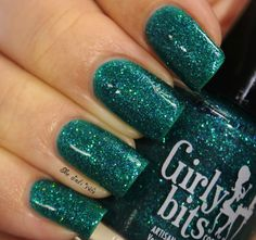 Girly Bits Cosmetics: Islands in The Sun from the It's 5 O'Clock Somewhere duo with Glam Polish. Available exclusively at Harlow & Co  Swatch by :Musings of the Wife of a Jedi