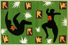Design for Cover of Verve IV, 1945, by Matisse.