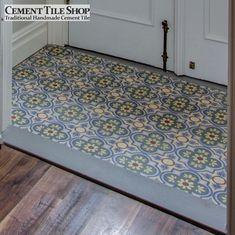Cement Tile Shop - Encaustic Cement Tile wandernesting_foyer_images