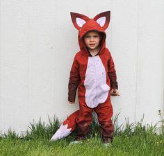 fox costume.