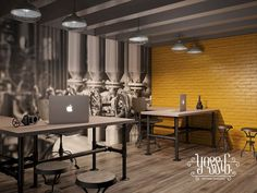 40+ Beautiful And Amazing Industrial Home Office Designs – DECOREDO