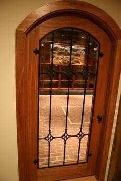 Wine Cellar Door.....I want a front door like this