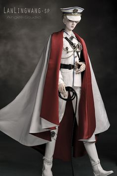 AS74cm King LanLing SP-Military uniform,glorious life,AS-Senior(65-74cm)