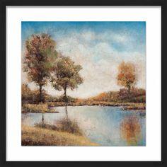 Lakeside Framed Giclee Print