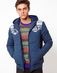 ASOS Jacket In Quilted Fabric