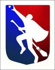 The official logo of Quidditch.