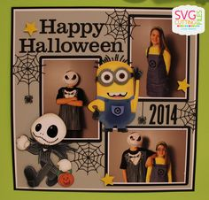 I used Minion and Jack with Pumpkin for my layout!!!