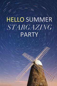 hello summer stargazing party