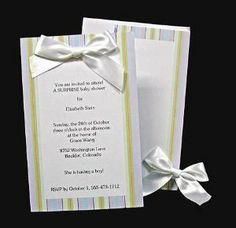 Wilton Bridal Shower Invitations