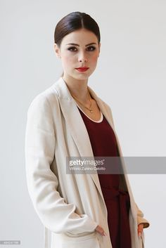 Singer Lena-Meyer Landrut poses for a portrait during the 65th Berlinale International Film Festival at the L'Oreal Cocobello styling studio on February 12, 2015 in Berlin, Germany.