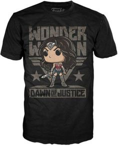 POP Tees: DC - Wonder Woman Sword - LG