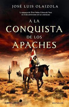 Durante diez años Álvar Núñez Cabeza de Vaca recorrió a pie el extenso territorio que abarca desde el río Bravo hasta El Paso... Para saber si está disponible en la biblioteca, pincha a continuación: http://absys.asturias.es/cgi-abnet_Bast/abnetop?SUBC=441&ACC=DOSEARCH&xsqf01=olaizola+conquista+apaches #novelahistorica