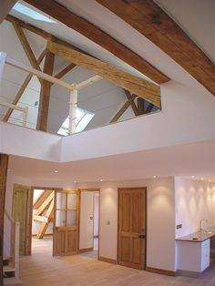 Stunning timber construction - contemporary barn conversion styling. Viking Lodge 2 - Samoëns, France - 2008 - Pedersen Søren