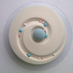 pastel glaseado brillante