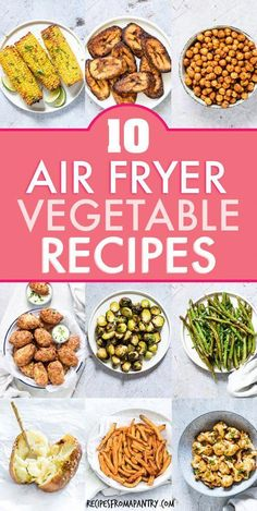 Want more than boring & bland veggies? These 12 Amazing Air Fryer Vegetable Recipes are exactly what you need! With the air fryer, all it takes is just a few minutes and a tiny bit of oil to serve up Air Fryer Recipes Appetizers, Air Fryer Recipes Vegetarian, Air Fryer Recipes Breakfast, Air Fryer Oven Recipes, Air Frier Recipes, Air Fryer Dinner Recipes, Vegetable Recipes, Cooking Recipes, Healthy Recipes