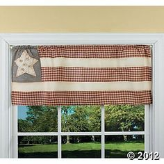 Americana American Flag Valance WIndow Patriotic Country Brand New , http://www.amazon.com/dp/B009BVOPL4/ref=cm_sw_r_pi_dp_PCJPrb1TEBY5V