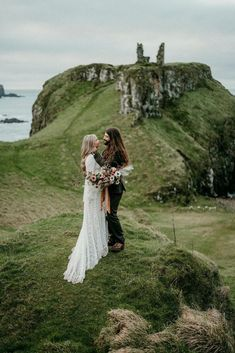 This Northern Ireland wedding photograph looks like a fairy tale. Located on the Causeway Coast, this romantic elopement is right out of a story book. Destination Wedding Inspiration, Destination Wedding Locations, Wedding Photo Inspiration, Elopement Inspiration, Wedding Looks, Dream Wedding, Wedding Things, Love Photography, Wedding Photography