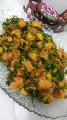 Gaziantep Patates Salatası (Piyazı) – Salata meze kanepe tarifleri – The Most Practical and Easy Recipes Turkish Salad, Appetizer Recipes, Appetizers, Diet Recipes, Healthy Recipes, Good Food, Yummy Food, Middle Eastern Recipes, Iftar