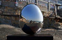 "Saatchi Art Artist Wenqin Chen; Sculpture, ""Standing Egg No.2"" #art"
