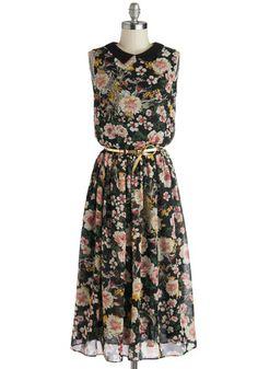Bursting with Blossoms Dress, #ModCloth