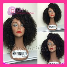 Find More Wigs Information about GQ upart human hair wig virgin brazilian hair 1*3 opening kinky curly u part wig brazilian wigs unprocessed 7a wig for women 1B#,High Quality wig accessories,China wig plastic Suppliers, Cheap wig stand from Glamour Fashion Hair CO.,LTD on Aliexpress.com
