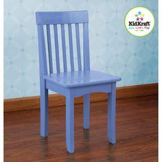 KidKraft Avalon Chair, Cornflower