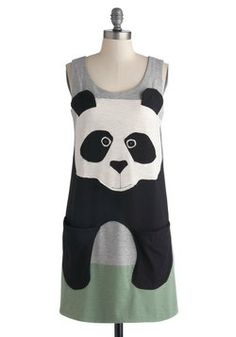 See You Standing Bear Dress, #ModCloth