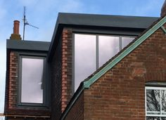 Contemporary loft conversion in Oxford by Holland and Green – Office Design 2020 Loft Conversion Windows, Loft Conversion Plans, Loft Conversions, Edwardian House, Victorian Terrace, Victorian Cottage, Roof Extension, Extension Ideas, Loft Plan